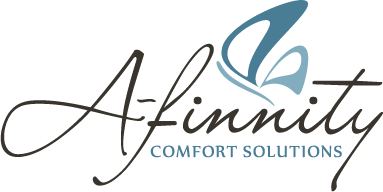 A-finnity Comfort Solutions Logo Design