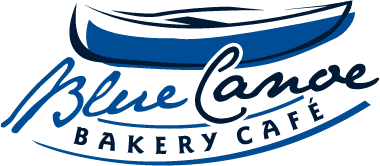Blue Canoe Bakery & Cafe Logo Design