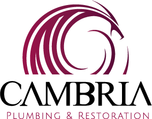 Cambria Plumbing & Restoration Logo Design