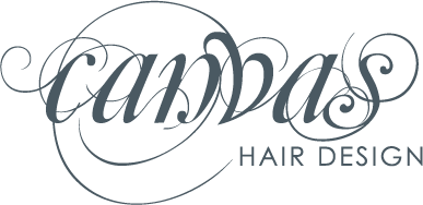 Canvas Hair Design Logo Design