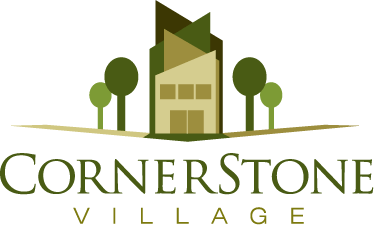 Cornerstone Village Logo Design