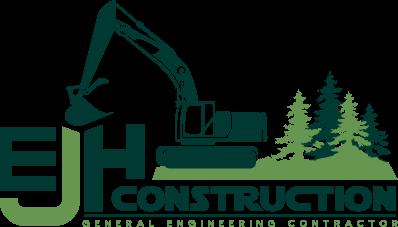 EJH Construction Logo Design