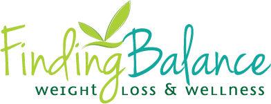 Finding Balance Weight Loss & Wellness Logo Design