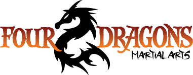 Four Dragons Martial Arts Logo Design