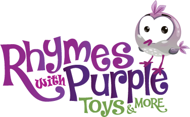 Rhymes with Purple Logo Design