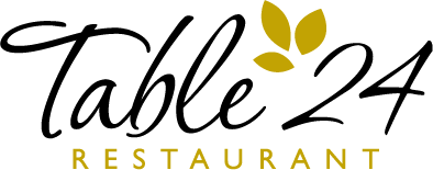 Table 24 Restaurant Logo Design