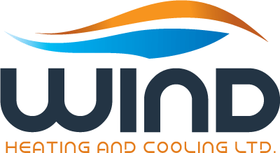Wind Heating and Cooling Logo Design