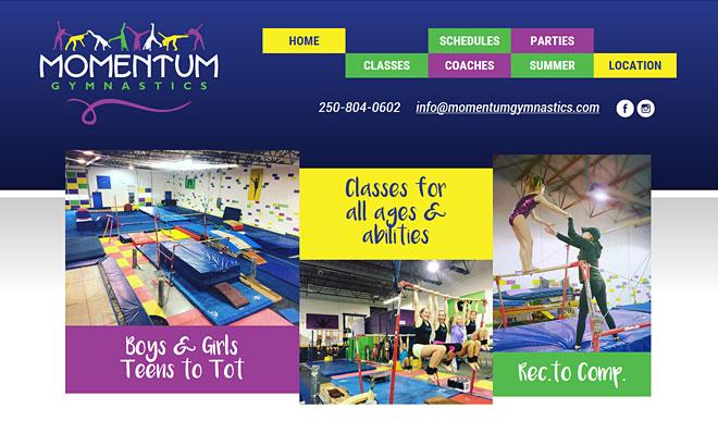 momentumgymnastics.com