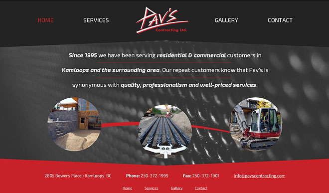 pavscontracting.com