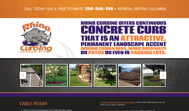 rhinocurbing.com