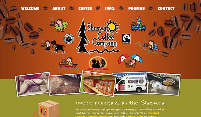 shuswapcoffee.com